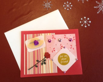 Red Hat Card 'For my dear friend'