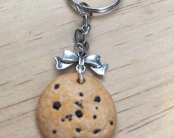 Polymer clay Cookie Keychain holder