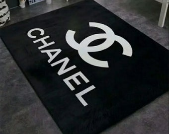 Coco Chanel inspired rug