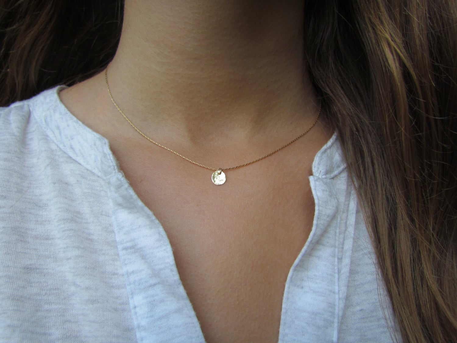 necklace products bar eden dainty skinny zoe