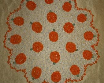 Pumpkin Patch  Doily Pattern