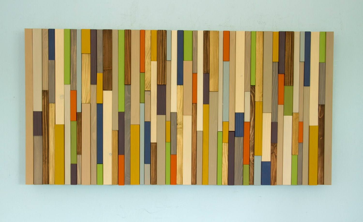 Modern Wood Art Mid Century Wall New Sculpture 2017 Colour Trends