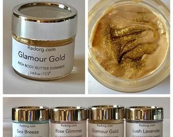 Gold GLIMMER Body Butter