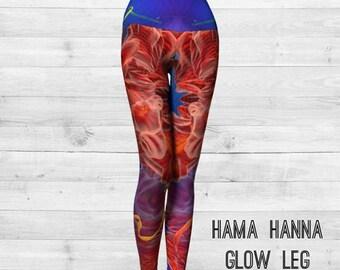 Hama Hanna Glow Leg Yoga Pants - Leggings