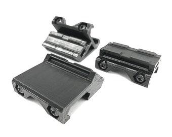 AmmoCounter Picatinny Rail Adapter, 45, 90 Deg or Straight