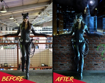 Cosplay Photo Enhancements,  Cosplay Photo Manipulation, Photoshop, Photo Manipulation, Photo Editing, Cosplay, Superhero, Comic Book