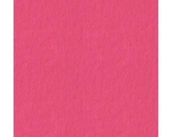 No. 125 Dark Pink Felt (20cm x 20cm) SunFelt Quality Wool Blend Felt Fabrics for Sewing and Crafting