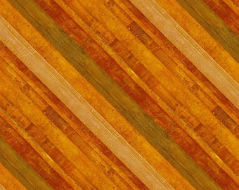 Amber Reflections Orange Fall Diagonal Stripe fabric 24050-235 from Wilmington by the ayrd