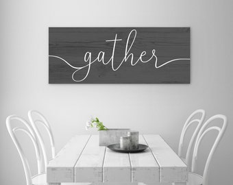 Gather Printable - Dark Gray Wood Texture