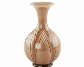 Vintage Rookwood Pottery Vase Art Deco Style 7075 Circa 1951