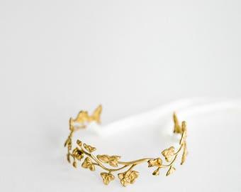 Lilia bracelet, bridal bracelet, wedding jewellery, bridal jewellery, wedding cuff, bridal cuff, wedding bracelet, gold bracelet #156