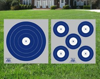 NFAA 5 spot outdoor archery target, archery target