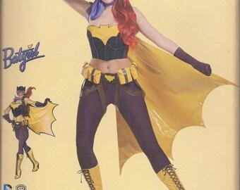 Simplicity 8197 Misses Batgirl Cosplay Costume UNCUT Sewing Pattern