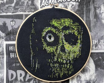 Return of the Living Dead cross stitch