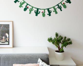 Cactus Sling//cactus//Garland//Banner//decoration//sling//gift//Home decor//Birthday present//house//Embellishment