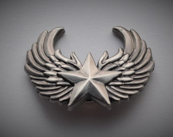 Winged Star Concho