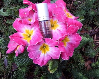 Idyllic Fantasy Perfume Oil, spring florals, candied flowers, sugar