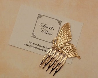 Golden Butterfly comb