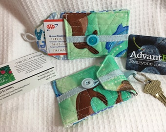 Sea Life Card Cozi and Key Chain