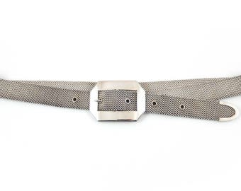 Sterling Mesh Belt Saul Mexico - X1273