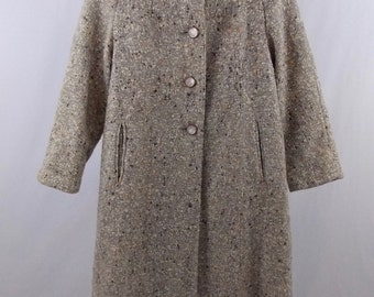 "Girl's Vintage Wool Coat ""Peerless"""
