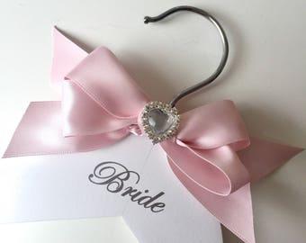 Personalised Wedding Hangers, wedding dress hanger, bridesmaid hangers, bridesmaid gift, wedding hangers, bridal party hangers, bridal