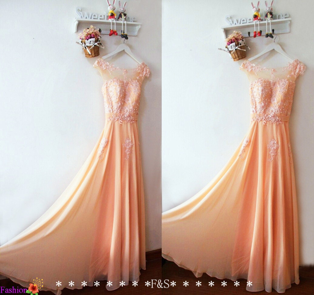 Lace prom dresssexy lace prom evening gownblush lace zoom ombrellifo Image collections