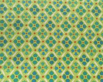 Denyse Schmidt Flea Market Fancy  Green Madallions Tile