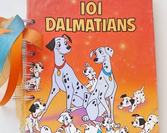 101 Dalmatians Scrapbook Mini-Album, Dog Scrapbook Autograph Book, Disney, Birthday