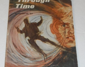 Tunnel Through Time by Lester Del Rey Vintage Scholastic Book
