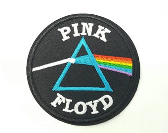 Pink Floyd embroidered retro music band iron on patch applique