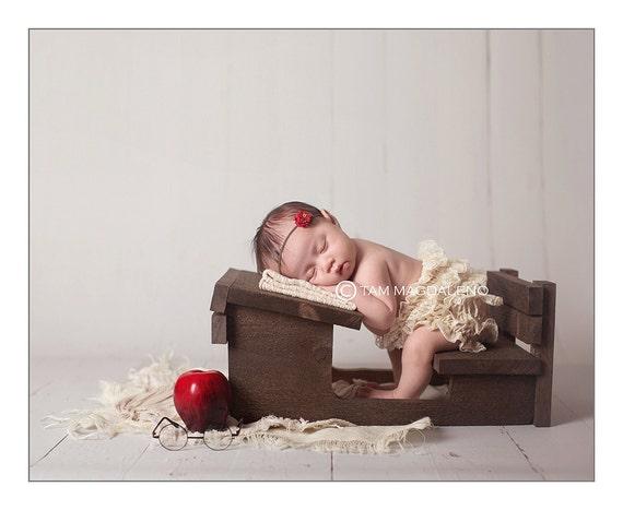 Ready to ship newborn photography prop desk photo prop
