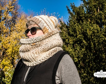 Clayton Cowl Extra Large Chunky Scarf