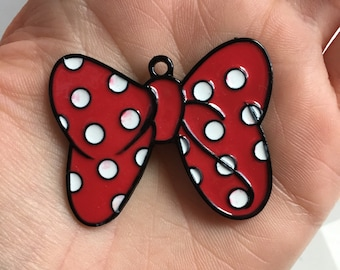 P81 Minnie Bow Pendant for Chunky Necklaces