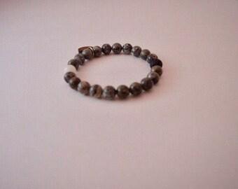 Diabetes Bracelet, Diabetes Awareness, Diabetes Jewelry, Diabetes Awareness Bracelet, Gray Bracelet, Diabetes Support