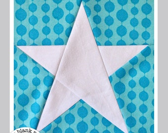 Simple Star #215 Paper Pieced Quilt Pattern PDF - 3 Sizes
