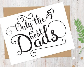 Pregnancy Announcement Card | New Grandpa | Only the Best Dads Get Promoted to Grandpa Card | Having a Baby Card | 100% Recycled Card
