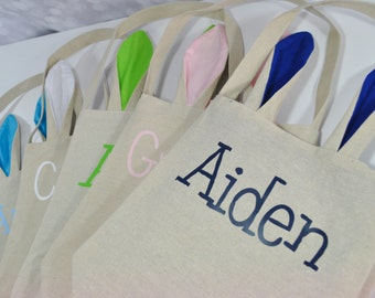 Personalized Easter Tote