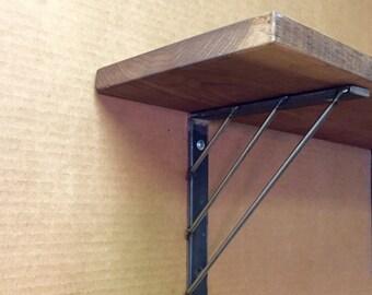 """4"""" - 12"""" Industrial Shelf Bracket, Wooden Shelf Bracket"""