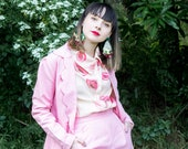 Pink Power Suit Blazer - Handmade by Alice
