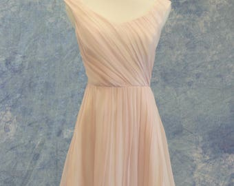 Violet Lilac Pale Purple Bridesmaid Dress Short Formal Bat Mitzvah Homecoming SAMPLE SALE!