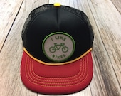 """Infant/Toddler Trucker Hat with """"I Like Bikes&quot..."""