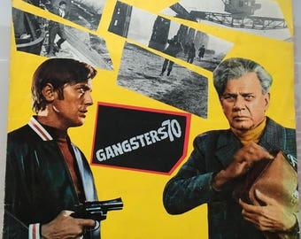Italian pressbook Gangsters '70 Dir. Mino Guerrini 1968