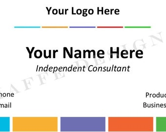 Customizable Business Card for Skincare Consultant 3 - DIGITAL FILE