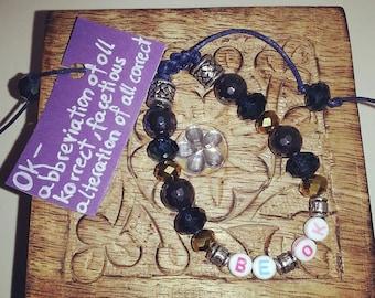 Be Ok Bead Bracelet