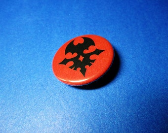 TWEWY Red Player Pinback Button (or Magnet)