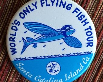 Catalina Island,Catalina Souvenir,Catalina Island Pin,Souvenir Brooch,Catalina Fish,Catalina Jewelry,Catalina Island Gift,Catalina Boat