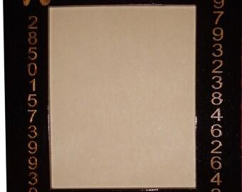 Custom Picture Frame PI - Math