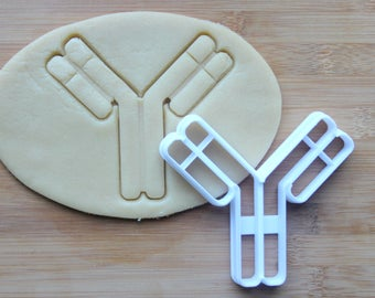 Science Antibody Cookie Cutter 3D Printed | Scientist Cookie Cutter  / Gifts for Scientist / Gifts for Geeks / Science Cookie Cutters