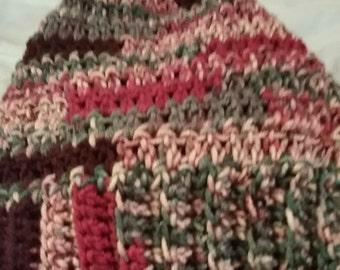 Crocheted Beanie/Slouchy Hat